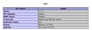 apc_phpinfo
